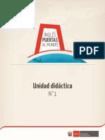 Ingles Puertas Al Mundo Unidad Didactica 1
