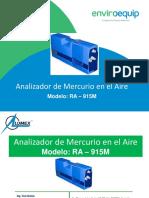 Analizador de Mercurio RA-915M v1.3