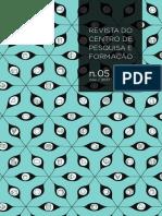 Revista Do Centro de Pesquisa e Formação n.05 (ISSN 2448-2773)