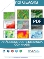 Coste Distancia Con ArcGIS