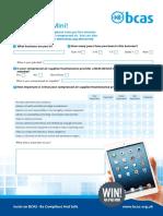 BCAS A4 2PP Survey PDF