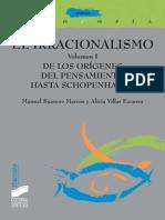 El Irracionalismo. Vol. I_ de Los Orígenes Del Pensamiento Hasta Schopenhauer (Thémata) - Alicia Villar & a. Manuel Suances