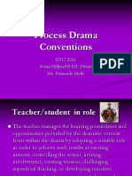 Process Drama Conventions