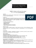 PSI00178 - Estudos Em Foucault I