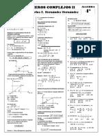 Alg - 4º - Números Complejos II
