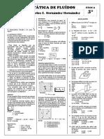 Fis - 5º - Estática de Fluídos