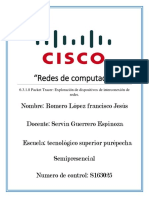 6.3.1.8 Packet Tracer Exploracion de dispocitivos de interconexion de redes.docx