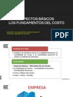 Tema 01 - Aspectos Básicos - Los Fundamentos Del Costo