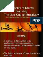 Elements of Drama-The Lion King 2013.pdf