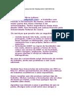 REVISÃO E NORMALIZAÇÃO DE TRABALHOS CIENTÍFICOS.doc