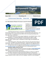 Pa Environment Digest March 18, 2019