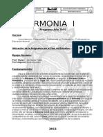 Programa Armonia I