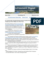 Pa Environment Digest March 25, 2019