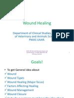 Wound Healing. Ppt. (SURG-302, 15-ARID-4409).