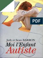 Barron, Judy et Sean - Moi, l'enfant autiste.pdf