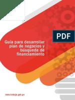 Guía Para Desarrollar Plan de Negocios y Búsqueda de Financiamiento