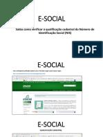 Passo a Passo E-social_ Cadastro