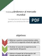 El Guano y La Construcción Del Estado