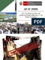 Competencias de los municipios para el otorgamiento de Licencias ley N°27972 - Arq.Jorge Huapaya Arias.pdf