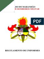 Regulamento de Uniformes do Corpo de Bombeiros Militar do Maranhão.pdf