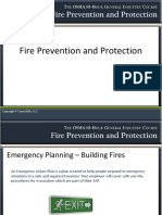 GEN Fire Prevention and Protection