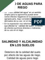 Clase Hidrologia Calidad de Aguas Para Riego Chica