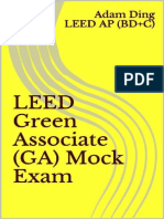 LEED Green Associate (GA) Mock - Adam Ding