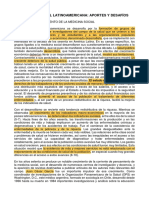 Medicina Social Latinoamericana