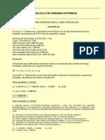 Calculo de Demanda - Prof. Danilo