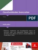 Oportunidades bancarias