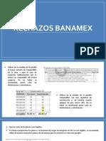 rechazos banamex