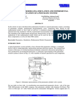 Full Paper Mathematical Modelling Simulation and Experimental Verification
