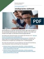 Der Daad Unsere Aufgaben Deutsche Sprache Veroeffentlichungen de Deutsch Als Fremdsprache Weltweit
