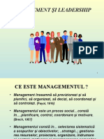 Management Si Leadership