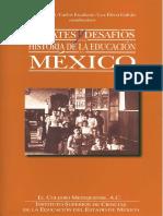 2002 Debates y desafios. historia de la educacion Mexico copia.pdf