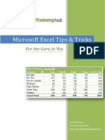 Microsoft Excel Tips & Tricks.pdf