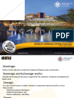 Lecture - Sewerage system design