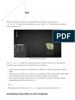 Linux Mint Installation Guide