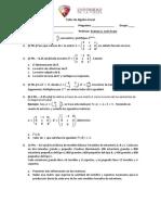 Taller de Algebra Lineal
