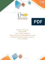 Presentación Del Curso Evaluación de Proyectos