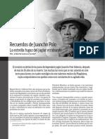 Recuerdos de Juancho Polo La Estrella Fugaz Del Jugador Errabundo