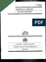 Drogas Essenciais Na Psiquiatria