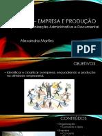 Empresa e Produção UFCD 0623