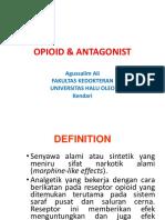 Kuliah Opiod & Antagonist