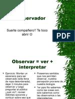 teoria del observador