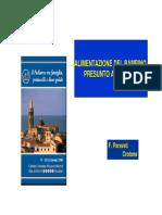 ALIMENTAZIONE DEL BAMBINO PRESUNTO ALLERGICO