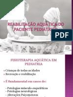 10 Reabilitação Aquática do paciente pediátrico