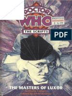 Doctor Who - The Scripts - The Masters of Luxor.pdf