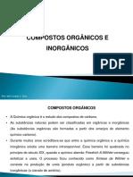 Compostos Orgânicos e Inorgânicos