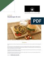Ricetta Hamburger Di Ceci - Le Ricette Di GialloZafferano.it
